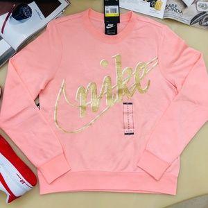 Nike Glitter Logo Sweatshirt